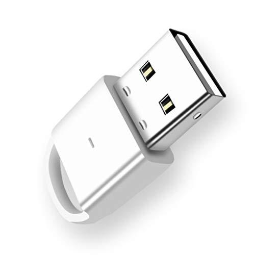 YWSZJ Adaptador de Bluetooth USB 4.0, computadora Audio de Escritorio PS4 PS4 PC Host Audio Audio AURICURADOR Mouse Teclado Receptor inalámbrico