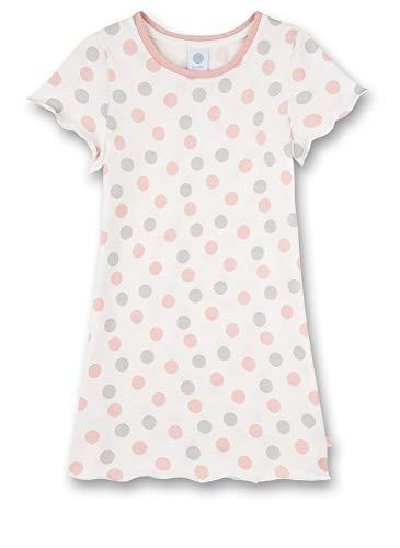 Sanetta Mädchen beige Nachthemd, White Pebble, 140