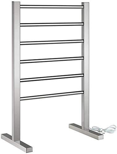 YLLN Calentador de Toallas eléctrico portátil de 6 Barras, toallero eléctrico de...