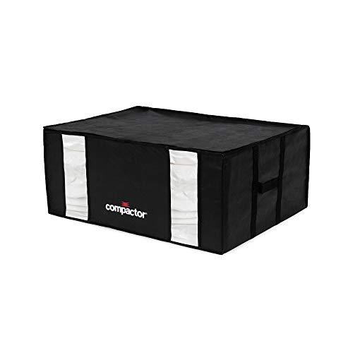 Compactor Black Edition Housse de rangement sous vide, Noir, XXL, 65 x 50 x H 27 cm, RAN8940