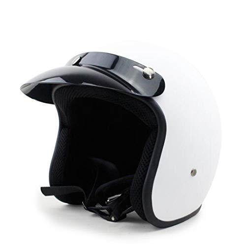 JIE KE Motorfiets Harley helm retro helm mannelijk Electric Hard Hat Retro helm