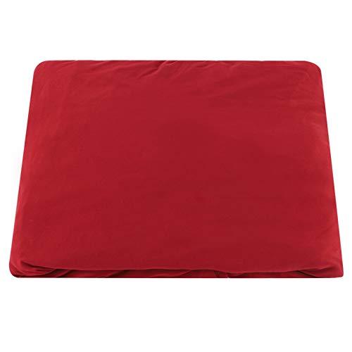 LICHUXIN Poliéster Protector Sofá Elástico 3 + 2 Asientos Funda Sofá Esquina En Forma L Funda Sofá Suave a Prueba Polvo para Protector Muebles Sofá Casero (Rojo Vino)