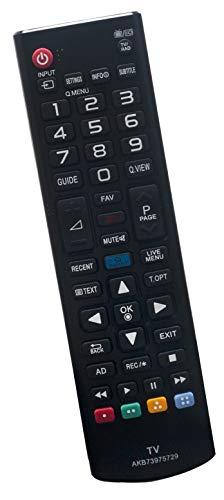 ALLIMITY AKB 73975729 Fernbedienung Ersetzen für LG LED LCD 3D TV 65UB980 65UB950V 60LB730V 55UB950 55UB850 55LB730 55LB700 55LB679 55LB671 50LB670 49UB850 49LB870V 47LB700V 47LB679V