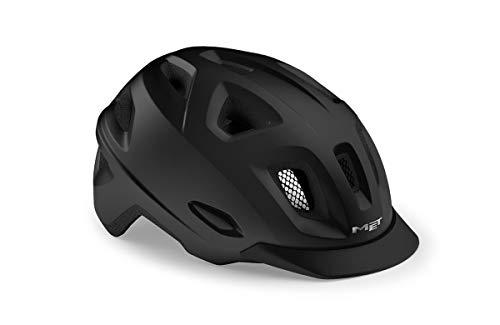 MET Mobilite Helm Black Matte Kopfumfang M/L | 57-60cm 2021 Fahrradhelm