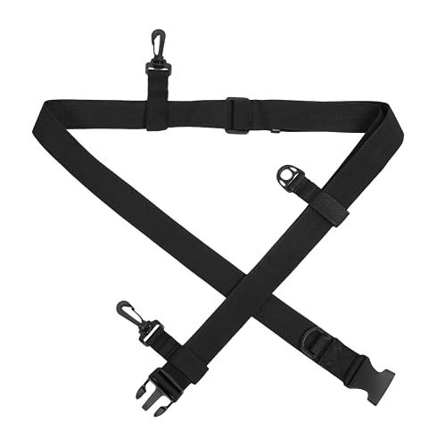 SALUTUY Cinturón De Vadeador, Cinturón De Malla De Nailon Resistente Y Duradero Cinturón De Cintura Multifunción para Colgar Accesorios De Pesca