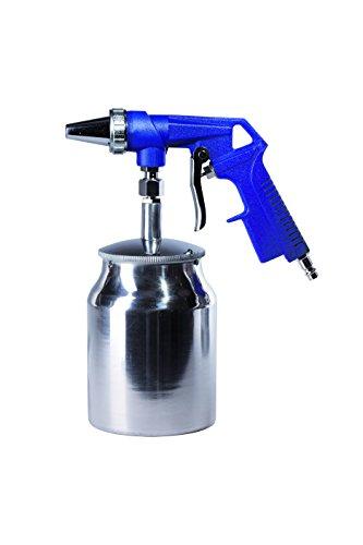 Zandstraalpistool ST   persluchtpistool met zuignap maat L   perfect voor kleinere oppervlakken   tank grootte 0,7 l