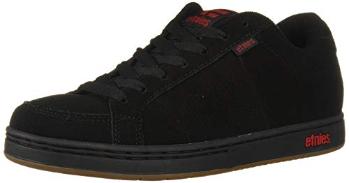 Etnies Kingpin Scarpe da Skateboard Uomo, Nero (547-Black/Black/Red 547), 37 EU