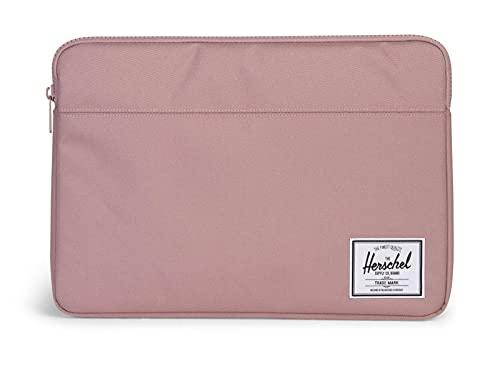 Herschel - Funda para MacBook/iPad, Color Rosa Ceniza, 15 Pulgadas