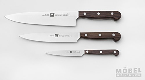 TWIN Gourmet Wood Messerset 3t