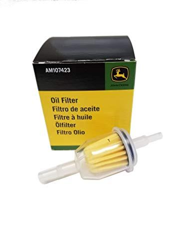 John Deere Original Equipment Fuel and Oil Filter Kit AM107423/AM116304