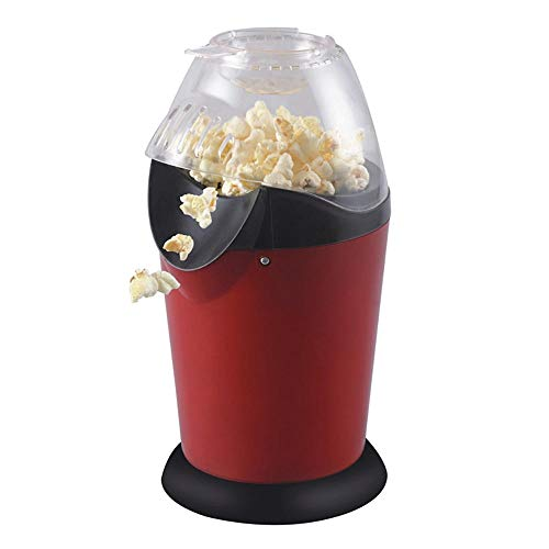 Sale!! Portable Electric Popcorn Maker Home Round/Square Hot Air Popcorn Making Machine Kitchen Desk...
