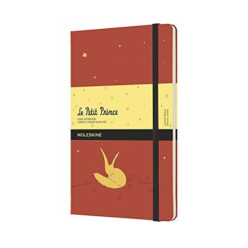 Moleskine El Principito - Cuaderno con páginas blancas, tamaño grande 13 x 21 cm, color naranja coral
