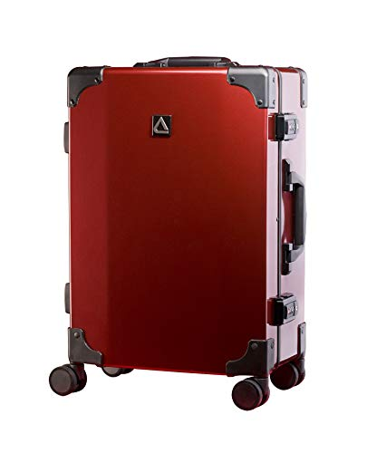 Purchase Andiamo Classico Suitcase with Built-in TSA Lock - Zipperless 20 Inch Hardside Carry On Bag...