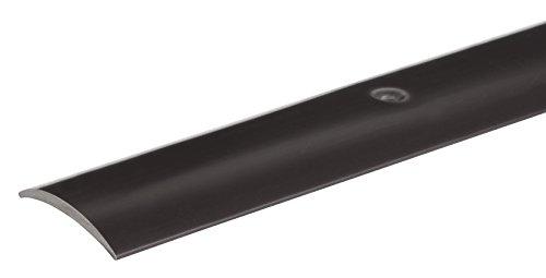 GAH Übergangsprofil, Hart-PVC, Breite 30mm, Länge 0,9m Schwarz