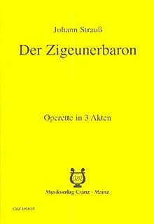 Le Baron Tzigane - Komische Oper in 3 Akten - Llivret/libreto - CRZ 1016-10
