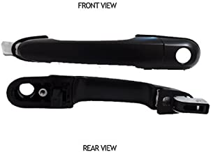 Black Outside Front Driver Side Replacement Door Handle For Hyundai Tucson 2005-2009