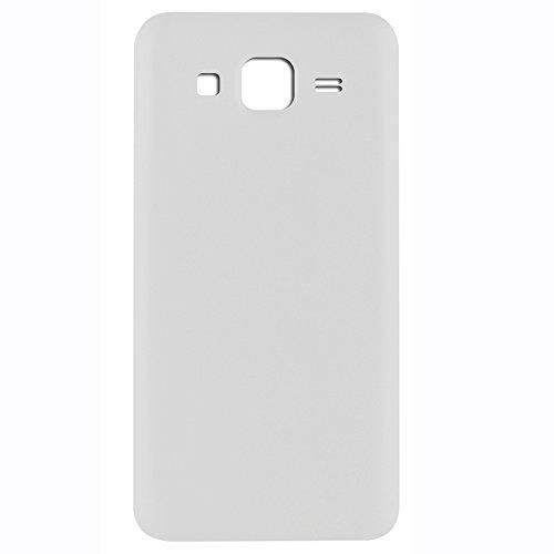 UU FIX Tapa de Batería para Samsung Galaxy J5 J500(Blanco) de la Reemplazo Parte Trasera Battery Cover con Kit Reparación.