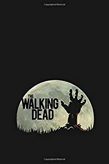 The Walking Dead: 100 lined pages notebook - gift suitable for men and women