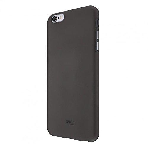 Artwizz Rubber Clip Handyhülle für iPhone 6 Plus, 6s Plus - Schutzhülle mit Soft-Touch-Beschichtung, geschmeidigen Grip - Designed in Berlin