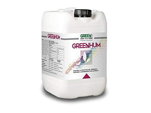 Geosism & Nature Greenhum (extraits humiques de léonardite) (20 kg), Engrais Liquide pour Plantes et Fleurs