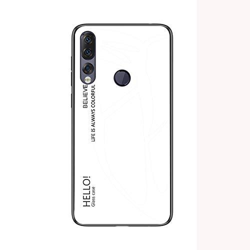 SWMGO® Farbverlauf Anti-Kratzer Glas Hülle für Lenovo Z5s (1)