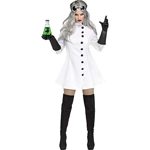 Fun World Women's Mad Scientist, Multi, Size L12-14