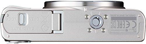 Canon PowerShot SX620 HS Digitalkamera (20,2 MP, 25-fach optischer Zoom, 50-fach ZoomPlus, 7,5cm (3 Zoll) Display, CMOS-Sensor; DIGIC4+, optischer Bildstabilisator, WLAN, NFC, HDMI) Kamera, silber