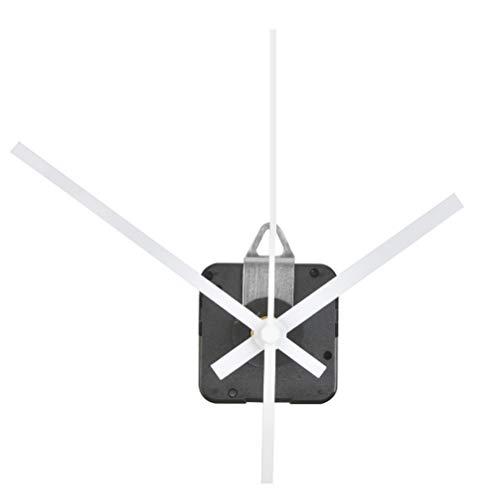 DODUOS 28 mm Langer Schaft Quarzuhrwerk Wanduhr Uhrwerk für DIY Wanduhr (weiß)