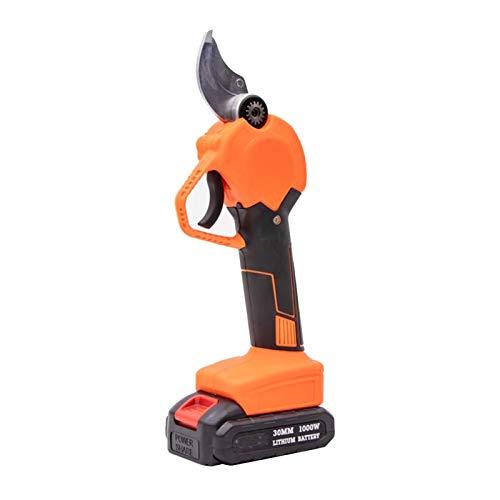 no-branded 21V sin Cable eléctrico Tijeras de podar Tijeras eléctricas Pruner Ajustable Tijeras de podar Rama de árbol Cortador Tijeras ZHQHYQHHX (Color : US)