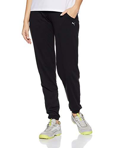 PUMA Essential Pantalon Femme Puma Black FR : S (Taille Fabricant : S)