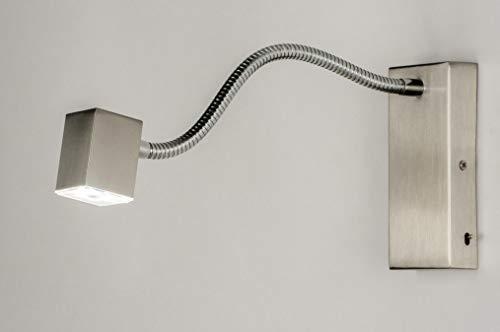 Lumidora Wandleuchte Modern Stahl Rostbestaendig