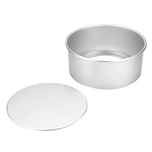Kuchenform, runde eloxierte Oberfläche, die Kuchenform mit abnehmbarem Boden erhöht(6In)