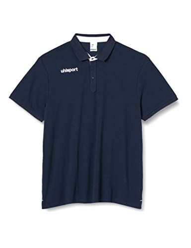uhlsport Herren Poloshirt Essential Prime Polo Shirt, Marine/Weiß, 5XL, 100214902