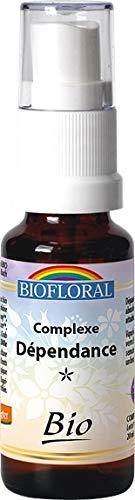 Biofloral - Elixir floral du docteur bach complexe n°1 dependance - vaporisateur élixir floral 20 ml