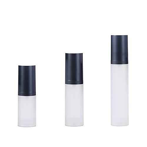 Reiseflaschen Set auslaufsicher Handgepäck Behälter für Toilettenartikel und Kosmetik 3er Set