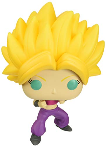 Funko- Pop Animation: Dragon Ball S4-Super Saiyan Caulifla SS Figura Coleccionable, Multicolor (47686)