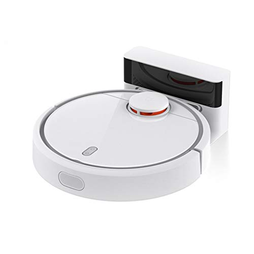 Xiaomi Mijia Roboter Staubsauger 1 Sweeping Smart Automatische App Steuerung 5200Am 1800Pa International Version Weiß