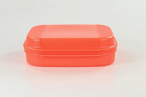 TUPPERWARE Naschkätzchen 900 ml neon orange Bellevue Vorratshaltung Apollo Royal