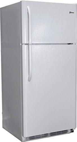 New Diamond Elite 19 Cu Ft Gas LP Propane White Top Freezer Refrigerator