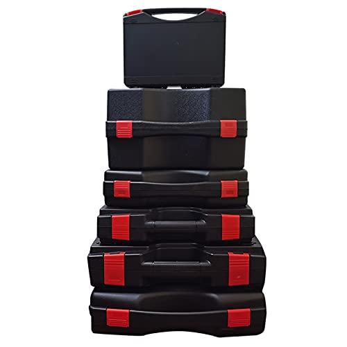 Caja Herramientas Caja de herramientas de hardware multifuncional Caja de instrumentos de caja de instrumentos Caja de herramientas de almacenamiento portátil Caja de herramientas de equipo con esponj