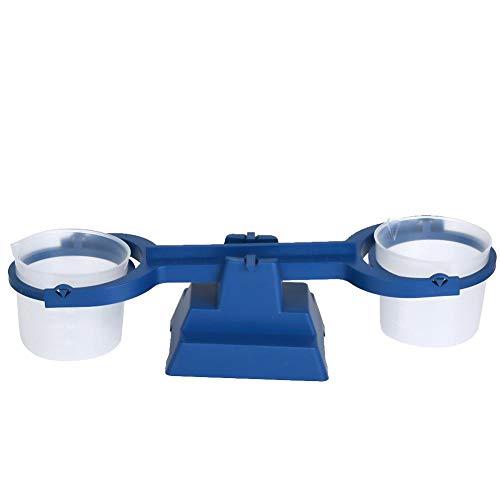 【 】Balanza simple de plástico, balanza, equipo experimental 200g / 1g para material didáctico para estudiantes(Simple balance)