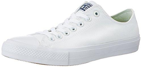 Converse CT II Ox, Scarpe da Ginnastica Unisex – Adulto, Bianco, 43 EU