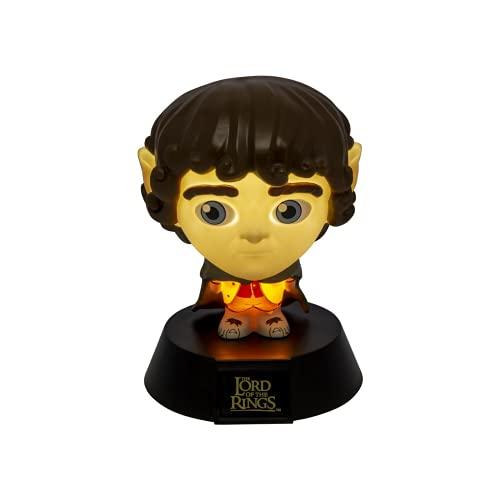 Paladone Lampada Il Signore degli Anelli, Frodo Icon Light, 10 Cm, Standard
