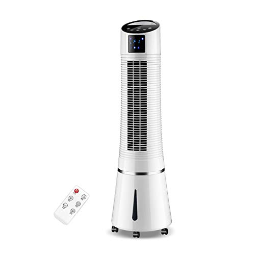 CHY Airconditioner, huishoudkoelventilator, luchtkoeler, watergekoelde enkele koeler, stil, staande airconditioning, wit