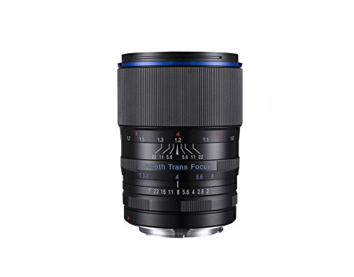 Laowa VE10520C - Objetico de 105 mm para cámara Canon, f/2 STF Lens, Color Negro