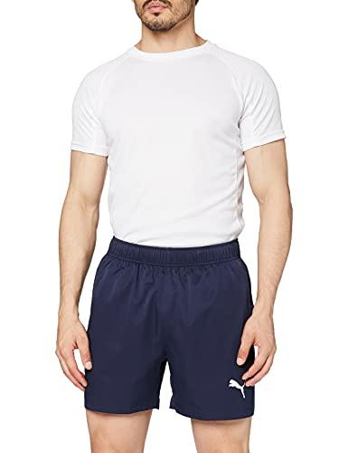 PUMA Active Woven Short 5` Pants, Hombre, Peacoat, M