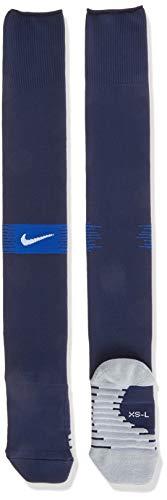 Nike Matchfit Otc - Team Calze Da Calcio, Unisex – Adulto, Midnight Navy/Game Royal/White, L