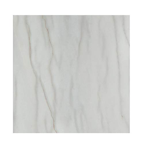 Peel and Stick Marble Vinyl Flooring 12in×12in Durable Waterproof Vinyl Tiles Self Adhesive and Removable for Kithen Living Room and Bathromm Floor Renovated Easy to Remove and Reposition