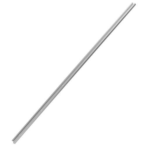 Losa deslizante, herramienta para trabajar la madera, ranura en T, inglete, aleación de aluminio, losa deslizante con riel en T, para el hogar de(1m T slot)