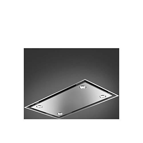 Smeg KSCB90XE Dunstabzugshaube 792 m³/h Abluft/Umluft, A, F, 68 dB